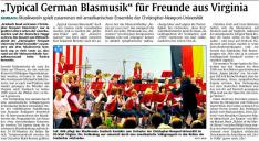 Typical German Blasmusik